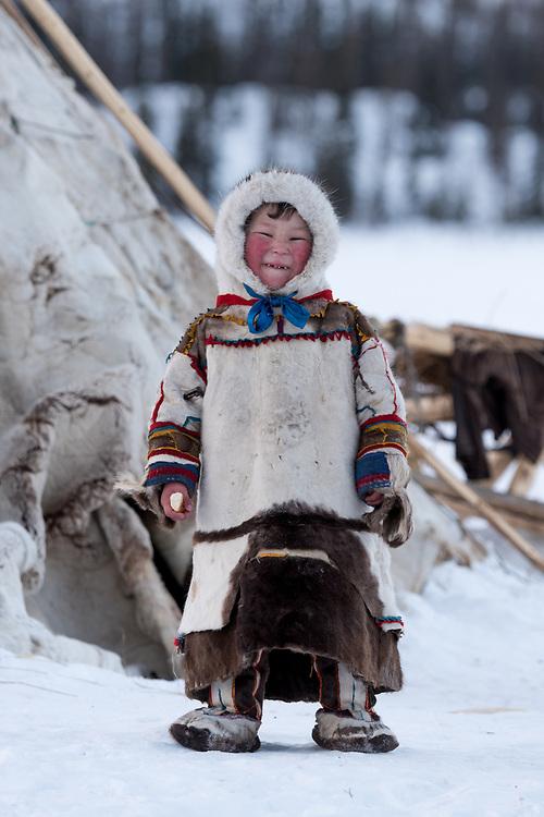 Nenzen Kind, Polarural, Russland