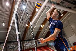 06-09-2018 NED: Netherlands - Argentina, Doetinchem<br /> First match of Gelderland Cup / Thijs ter Horst #4 of Netherlands