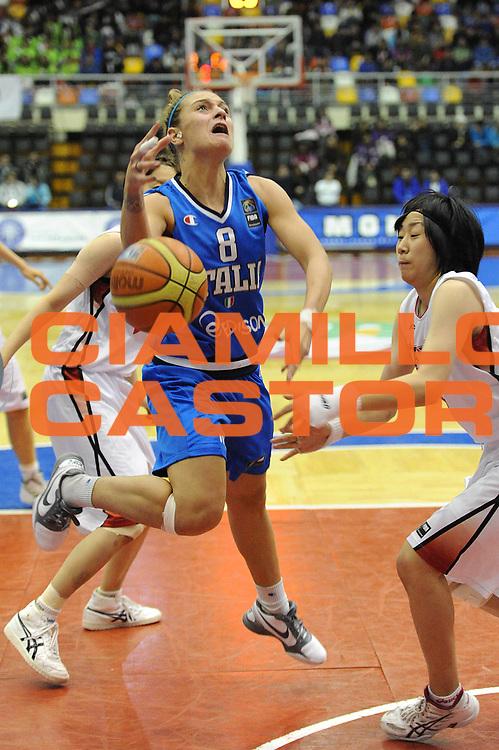 DESCRIZIONE : Chile Cile U19 Women World Championship 2011 Japan Italy Giappone Italia <br /> GIOCATORE : Giulia Maffenini<br /> SQUADRA : Italia Italy<br /> EVENTO : Chile Cile U19 Women World Championship 2011 <br /> GARA : Japan Italy Giappone Italia<br /> DATA : 25/07/2011<br /> CATEGORIA : tiro penetrazione<br /> SPORT : Pallacanestro <br /> AUTORE : Agenzia Ciamillo-Castoria/C.De Massis<br /> Galleria : Fiba U19 World Championship Women Chile 2011<br /> Fotonotizia : Chile Cile U19 Women World Championship 2011 Japan Italy Giappone Italia<br /> Predefinita :