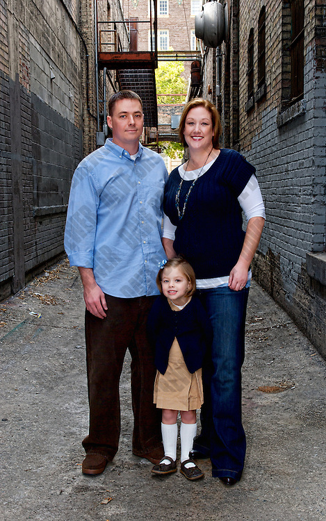 extended family portraits of the Yeates / Larson clan in downtown Salt Lake City, Utah