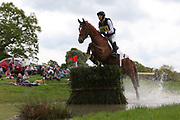Paul Sims on G S Van De Klinkenberg during the International Horse Trials at Chatsworth, Bakewell, United Kingdom on 12 May 2018. Picture by George Franks.