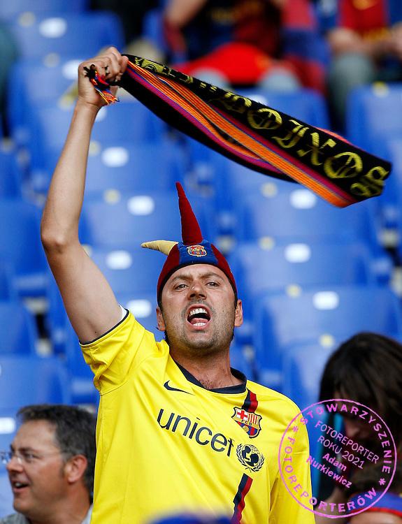 ROME 27/05/2009.Uefa Champions League - Final.Manchester United v Fc Barcelona.Barcelona's fans ..Fot. Piotr Hawalej / WROFOTO