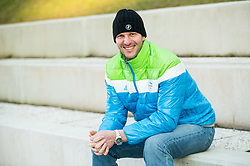 Portrait of Andrej Jerman, former Slovenian Alpine Skier, on January 12, 2018 in Trzic, Slovenia. Photo by Vid Ponikvar / Sportida