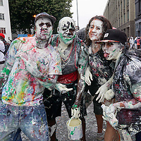 Jouvert kick of Notting Hill Carnival