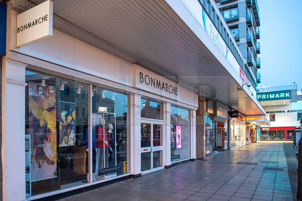 © Licensed to London News Pictures. 19/10/2019. London, UK. High street women's fashion store Bonmarche has appointed administrators putting approximately 2900 jobs at risk. Photo credit: Peter Manning/LNP