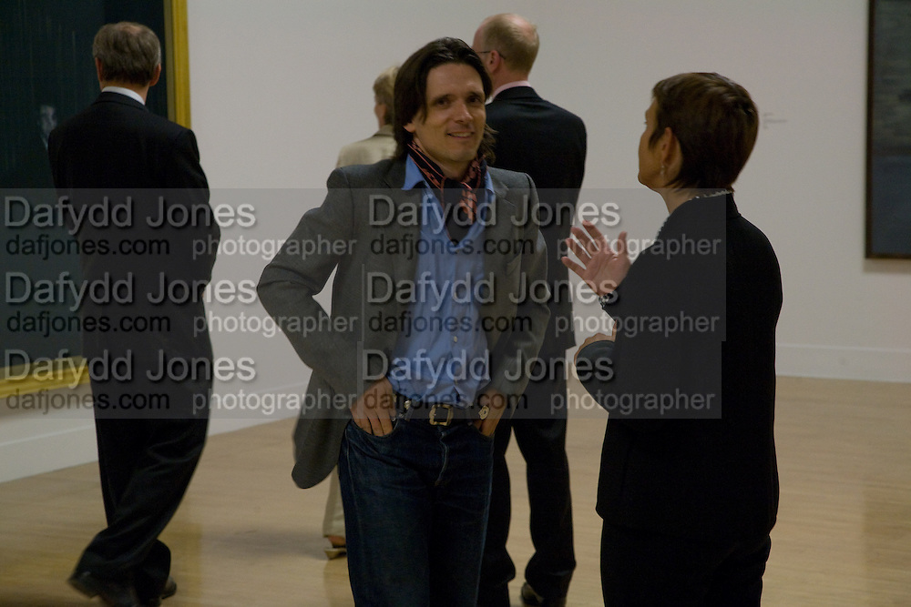 Jeremy Deller, Francis Bacon opening private view and dinner. Tate Britain. 8 September 2008 *** Local Caption *** -DO NOT ARCHIVE-© Copyright Photograph by Dafydd Jones. 248 Clapham Rd. London SW9 0PZ. Tel 0207 820 0771. www.dafjones.com.