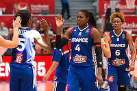 Deception France - Isabelle Yacoubou - 28.06.2015 - France / Serbie - Finale Championnat d'Europe feminin de Basket ball -Budapest<br /> Photo : Attila Volgyi / Icon Sport