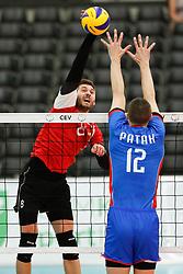 20170525 NED: 2018 FIVB Volleyball World Championship qualification, Koog aan de Zaan<br />Igor Didorciuc (8) of Republic of Moldova <br />©2017-FotoHoogendoorn.nl / Pim Waslander