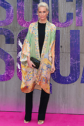 © Licensed to London News Pictures. 03/08/2016. POPPY DELEVINGNE attends the Suicide Squad UK Film Premiere  London, UK. Photo credit: Ray Tang/LNP