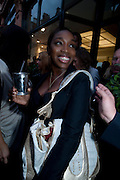 ESTELLE, Launch party of the new Belvedere Black Raspberry Maceration Vodka hosted by Estelle and Jonathan Kelsey, at the Belvedere Pop-Up Shop. Mount St. London. 6 May 2009