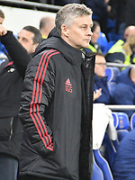 Football - 2018 / 2019 Premier League - Cardiff City vs. Manchester United<br /> <br /> Manchester Utd caretaker manager Ole Gunnar Solskjaer in his 1st game in charge, at Cardiff City Stadium.<br /> <br /> COLORSPORT/WINSTON BYNORTH