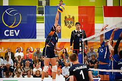 20170524 NED: 2018 FIVB Volleyball World Championship qualification, Koog aan de Zaan<br />Thijs Ter Horst (4) of The Netherlands <br />©2017-FotoHoogendoorn.nl / Pim Waslander