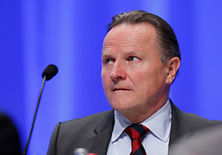 30.04.2016, Messe, Stuttgart, GER, 5. Bundesparteitag der AfD, im Bild Georg Pazderski Beisitzer im Bundesvorstand // during the 5th party convention of the Alternative for Germany (AfD) at the Messe in Stuttgart, Germany on 2016/04/30. EXPA Pictures © 2016, PhotoCredit: EXPA/ Sammy Minkoff<br /> <br /> *****ATTENTION - OUT of GER*****