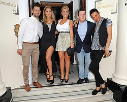 The Only Way Is Essex stars Charlie King, Sam Faiers, Billie Faiers, Little Chris and Bobby-Cole Norris attend the end of series six wrap party held at 5 Cavendish in London, UK. 22/08/2012<br />BYLINE MUST READ : GOTCHAIMAGES.COM<br /><br />Copyright by © Gotcha Images Ltd. All rights reserved.<br />Usage of this image is conditional upon the acceptance <br />of Gotcha Images Ltd, terms and conditions available at<br />www.gotchaimages.com