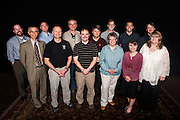 Administrative staff honored at the service awards ceremony for their ten years of service. Photo by: Ross Brinkerhoff.