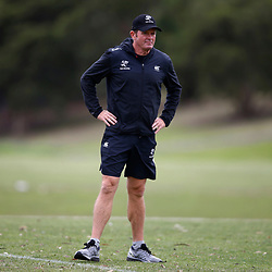 Sean Everitt (Head Coach) of the Cell C Sharks during the Cell C Sharks training session from theBox Hill Rugby Union Football Club  RHL Sparks Reserve, Canterbury Rd & Middleborough Road, Box Hill VIC 3128. Melbourne,Australia 20 February 2020. (Photo Steve Haag Sports -Hollywoodbets)