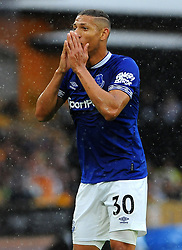 Richarlison of Everton shows a look of dejection- Mandatory by-line: Nizaam Jones/JMP - 11/08/2018/ - FOOTBALL -Molineux  - Wolverhampton, England - Wolverhampton Wanderers v Everton - Premier League