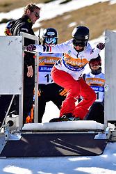 HERHNANDEWZ Cecile, SB-LL1, FRA, Snowboard Cross at the WPSB_2019 Para Snowboard World Cup, La Molina, Spain