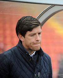 Bristol Rovers Manager, Darrell Clarke - Photo mandatory by-line: Neil Brookman/JMP - Mobile: 07966 386802 - 28/02/2015 - SPORT - Football - Gateshead - Gateshead International Stadium - Gateshead v Bristol Rovers - Vanarama Football Conference