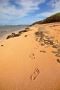 Larsen's Beach, Kilauea, Kauai, Hawaii