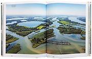 Voorbij de dijken, p 142 - 143, de ontpolderde Noordwaard