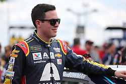 September 30, 2018 - Charlotte, NC, U.S. - CHARLOTTE, NC - SEPTEMBER 30:  #88: Alex Bowman, Hendrick Motorsports, Chevrolet Camaro Axalta before the Monster Energy NASCAR Cup Series Playoff Race Bank of America ROVAL 400 on September 30, 2018, at Charlotte Motor Speedway in Concord, NC. (Photo by Jaylynn Nash/Icon Sportswire) (Credit Image: © Jaylynn Nash/Icon SMI via ZUMA Press)