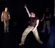 5 Soldiers : The Body is the Frontline<br /> Rosie Kay Dance Company <br /> at The Rifles Officers' Club, London, Great Britain <br /> press photocall <br /> 7th May 2015 <br /> <br /> Duncan Anderson<br /> <br /> Shelley Eva Haden <br /> <br /> Chester Hayes <br /> <br /> Sean Marcs<br /> <br /> Oliver Russell <br /> <br /> choregrphy by Rosie Kay <br /> <br /> <br /> <br /> <br /> Photograph by Elliott Franks <br /> Image licensed to Elliott Franks Photography Services