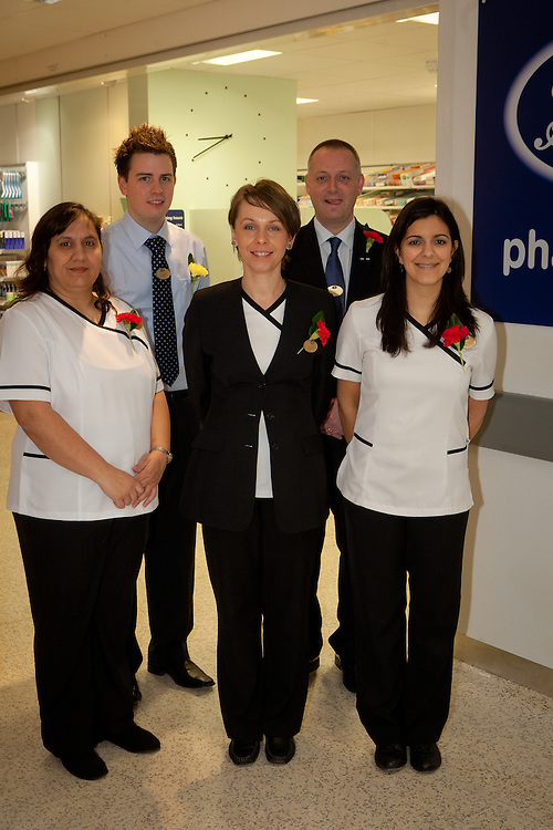 Members of the boots team