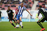 Wigan Athletic midfielder Shaun MacDonald (16) during the EFL Sky Bet Championship match between Wigan Athletic and Brighton and Hove Albion at the DW Stadium, Wigan, England on 22 October 2016.