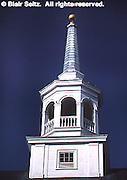 Moravian Church steeple, Lititz, PA