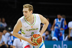 Jaka Blazic of Slovenia during friendly match between National Teams of Slovenia and Greece before World Championship Spain 2014 on August 17, 2014 in Kaunas, Lithuania. Photo by Robertas Dackus / Sportida.com