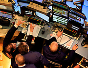 Uncertainty about the European Market and a surprising 290.000 job gain made the NYSE Floor Specialists scramble for a rebounce on the final day of a volatile trading week.