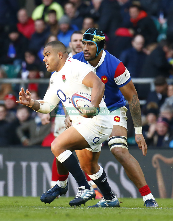 February 10, 2019 - London, England, United Kingdom - Mako Vunipola of England.during the Guiness 6 Nations Rugby match between England and France at Twickenham  Stadium on February 10th, 2019 in Twickenham, London,  England. (Credit Image: © Action Foto Sport/NurPhoto via ZUMA Press)