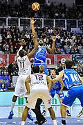 Tony Easley<br /> Angelico Biella - Banco di Sardegna Dinamo Sassari<br /> Legabasket Serie A Beko 2012-2013<br /> Biella, 20/01/2013<br /> Foto L.Canu / Ciamillo-Castoria
