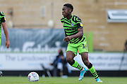 Forest Green Rovers Ebou Adams(14) on the ball during the EFL Sky Bet League 2 match between Forest Green Rovers and Crawley Town at the New Lawn, Forest Green, United Kingdom on 5 October 2019.