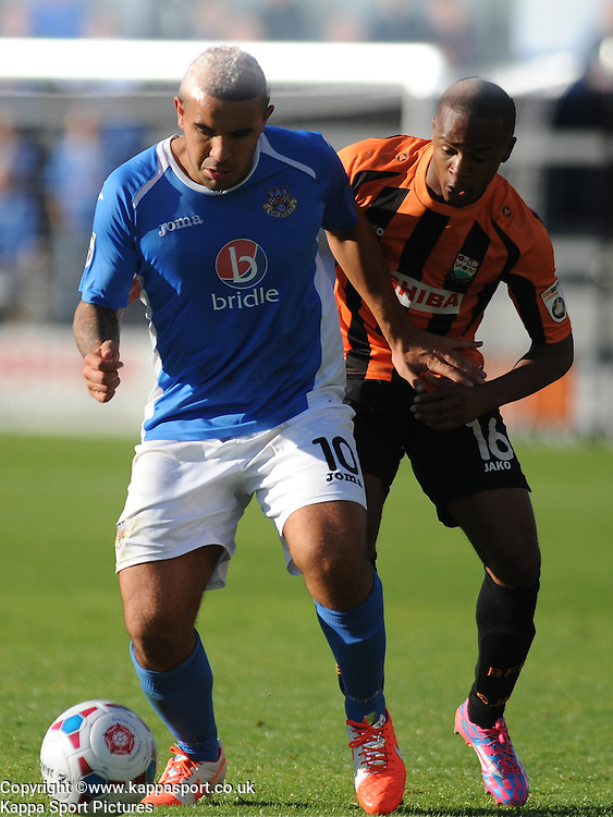 Jai Reason Eastleigh FC, Barnet v Eastleigh, Vanarama Conference, Saturday 4th October 2014