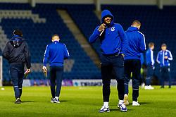 Jonson Clarke-Harris of Bristol Rovers arrives at The Medway Priestfield Stadium prior to kick off - Mandatory by-line: Ryan Hiscott/JMP - 12/03/2019 - FOOTBALL - The Medway Priestfield Stadium - Gillingham, England - Gillingham v Bristol Rovers - Sky Bet League One