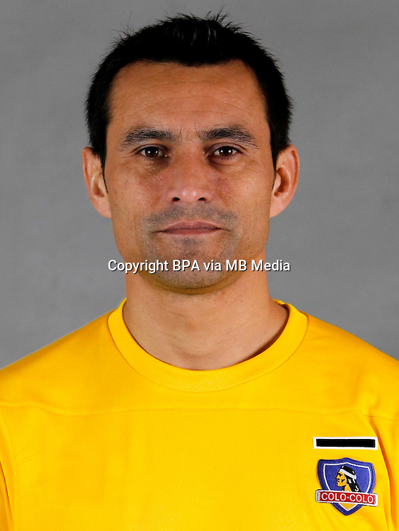 Chile Football League Serie A  /<br /> ( Club Social y Deportivo Colo-Colo ) - <br /> Justo Villar
