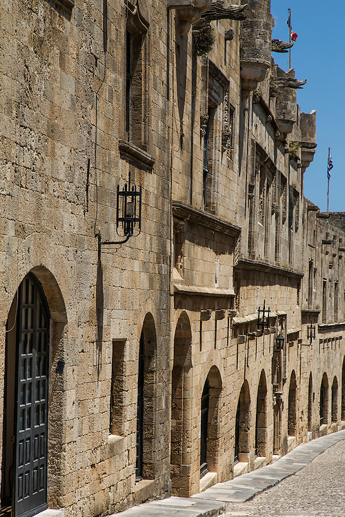 Avenue of the Knights in Rhodes Old Town