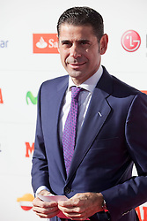26.11.2013, Callao Cinema, Madrid, ESP, Rafael Nadal, Marca Legend Award, Gala zum Gedenken an 75 Jahre der Sport-Tageszeitung, im Bild Spanish football player Hierro// attends the 75th Anniversary Marca Awards ceremony at callao cinema in Madrid, Spain on 2013/11/26. EXPA Pictures © 2013, PhotoCredit: EXPA/ Alterphotos/ Victor Blanco<br /> <br /> *****ATTENTION - OUT of ESP, SUI*****