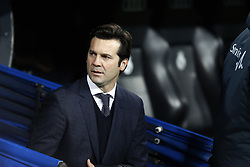 January 24, 2019 - Madrid, Madrid, Spain - Santiago Hernan Solari(Real Madrid) seen before the Copa del Rey Round of quarter-final first leg match between Real Madrid CF and Girona FC at the Santiago Bernabeu Stadium in Madrid, Spain. (Credit Image: © Manu Reino/SOPA Images via ZUMA Wire)