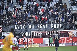 March 31, 2018 - Nancy, France - supporters nancy (Credit Image: © Panoramic via ZUMA Press)