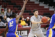 December 10, 2016: The Central Christian College Tigers play against the Oklahoma Christian University Eagles in the Eagles Nest on the campus of Oklahoma Christian University.