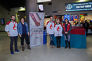 KELOWNA, CANADA - FEBRUARY 02:  Canadian Blood Services at the Kelowna Rockets game on February 02, 2018 at Prospera Place in Kelowna, British Columbia, Canada.  (Photo By Cindy Rogers/Nyasa Photography,  *** Local Caption ***