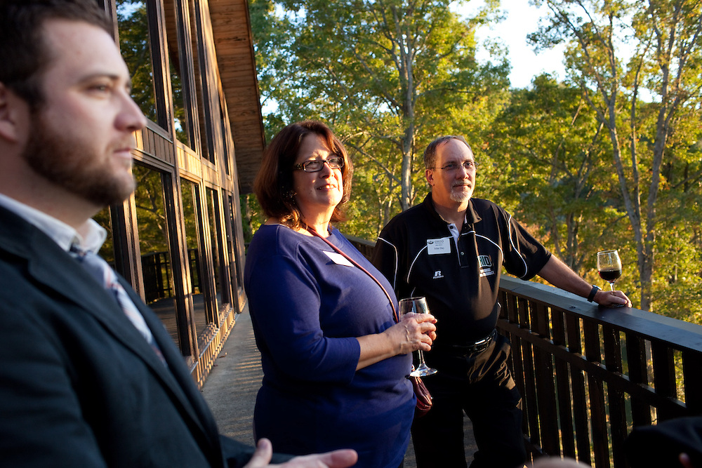 The College of Business Executive Advisory Board Dinner was hosted at the Burr Oak Lodge in Glouster, Ohio on Thursday, October 10, 2013. Photo by Chris Franz