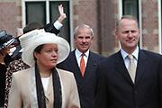 His highness prince Pieter-Christiaan of Oranje Nassau, of Vollenhoven and Ms drs. A.T. van Eijk get married  in the Great or St Jeroens Church in Noordwijk. <br /> <br /> <br /> Zijne Hoogheid Prins Pieter-Christiaan van Oranje-Nassau, van Vollenhoven en mevrouw drs. A.T. van Eijk treden in het (kerkelijk) huwelijk in de Grote St. Jeroenskerk in Noordwijk<br /> <br /> On the photo/Op de foto:<br /> <br /> <br /> <br /> DRS. F.W. weisglas, voorzitter van de Tweede Kamer