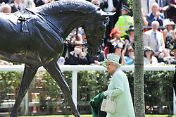 HM The QUEEN at day 1 of the 2011 Royal Ascot Racing festival at Ascot Racecourse, Ascot, Berkshire on 14th June 2011.