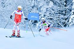 Women's Giant Slalom, PESKOVA Anna, Guide: HUBACOVA Michaela, B2, CZE at the WPAS_2019 Alpine Skiing World Championships, Kranjska Gora, Slovenia
