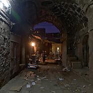 Egypt. Cairo -wakala of DHU AL FIKAR ODA BASHI destroyed by fire in Gamalyah area. Islamic cairo    Uda BASHI NM19 +