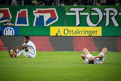 17.03.2019, Allianz Stadion, Wien, AUT, 1. FBL, SK Rapid Wien vs TSV Prolactal Hartberg, 22. Runde, im Bild v. l. Boli Bolingoli-Mbombo (SK Rapid Wien), Andrei Ivan (SK Rapid Wien) // f. l. Boli Bolingoli-Mbombo (SK Rapid Wien), Andrei Ivan (SK Rapid Wien) during the tipico Bundesliga 22th round match between SK Rapid Wien and TSV Prolactal Hartberg at the Allianz Stadion in Wien, Austria on 2019/03/17. EXPA Pictures © 2019, PhotoCredit: EXPA/ Florian Schroetter